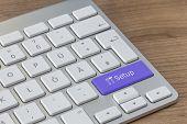 Setup On Modern Keyboard