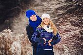 Positive Couple Having Fun