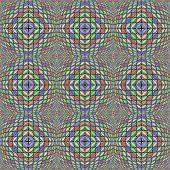 Design Seamless Warped Diamond Geometric Pattern