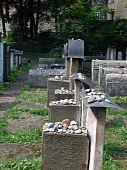 der Remuh jüdische Friedhof in Krakau Polen