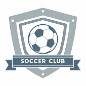 Soccer Or Football Club Label