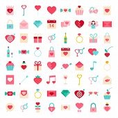 Love Flat Style Icons