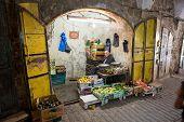 Greengrocer's Shop In Hebron