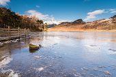 Blea Tarn Frozen