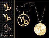 Capricorn Medallion & Pendant