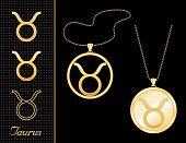 Taurus Medallion & Pendant