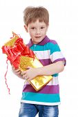 image of gift wrapped  - Fair - JPG
