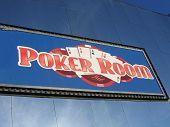 Poker Room Sign