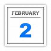 stock photo of february  - February 2 - JPG