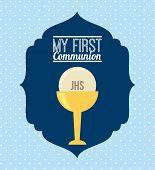 foto of communion-cup  - my first communion  design - JPG