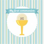 image of communion-cup  - my first communion  design - JPG