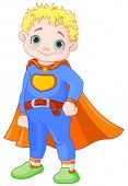picture of boys night out  - Illustration of super hero boy  - JPG