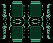Mouse Drawing Borders  01  Invert Green
