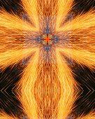 Kaleidoscope Cross:  Welder Sparks5