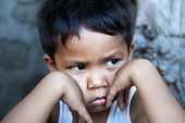Young Filipino Boy Portrait