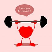 Heart bodybuilding