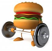 Strong hamburger