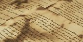 pic of annal  - Ancient and vintage handwritten Bible pages - JPG