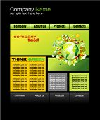 VECTOR Environment Green Web Site Template