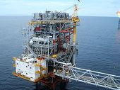 Raia Oil Platform In Angola