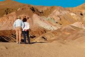 Tourists At Death Valley
