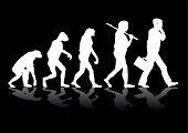 Постер, плакат: Эволюция