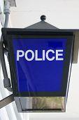 Police Light Sign