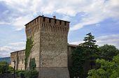 Varano de' Melegari castle. Emilia-Romagna. Italy.