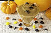 Halloween Butterscotch Pudding