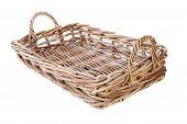 Big Empty Cane Basket