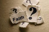 Questioning faith