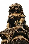 Female Chinese Lion Statue