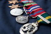 Strip of medals