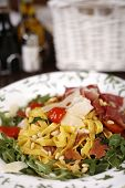 Beautiful Dish Of Fresh Taliagtelle