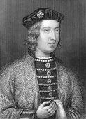 Постер, плакат: Эдуард IV 1442 1483 Выгравирован добродетели и опубликована в истории Англии Соединенное Королевство 1