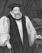 George Abbot (1562-1633). Engraved by W.T.Mote and published in Lodge's British Portraits, United Kingdom, 1850.