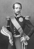 stock photo of bonaparte  - Napoleon III aka Louis Napoleon Bonaparte  - JPG