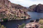 Apache Trail Lake, Arizona, Usa