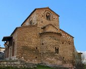 traditional Byzantinume church at Kastoria Makedonia, Greece