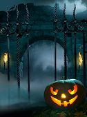 Design Background For Halloween Party