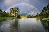 Rainbow Over Botanical Garden