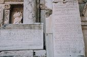 Antique City Ephesus.ruins Of An Ancient City In Turkey.selcuk, Kusadasi,turkey.archaeological Excav poster