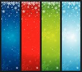 Color Christmas Banners