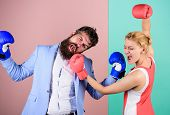 Gender Battle. Gender Equal Rights. Gender Equality. Man And Woman Boxing Fight. Couple In Love Comp poster
