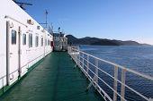 Ferry In New Zealand