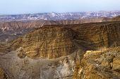 Mountain Canyon Near The Dead Sea