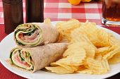 Smoked Turkey Wraps