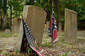 image of confederation  - Sunbury Cemetery holds the remains of several Civil War Confederate soldiers