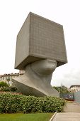 Tete Au Carre (Squared Head), Nice, France