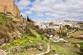 Ronda Town In Andalucia